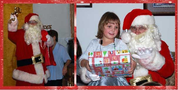 Visit From Santa Claus