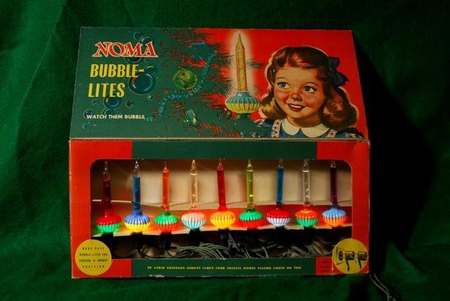 Bubble Lights Christmas